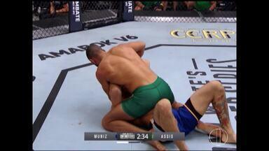 Lutador Sergipano participa de reality na Globo neste final de semana - Lutador não conseguiu realizar sonho de conquistar vaga no UFC.