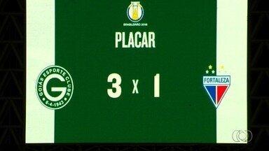Goiás vence o Fortaleza e volta para o G-4 da Série B - Time esmeraldino joga bem, faz 3 a 1 no Olímpico e assume a terceira posição.