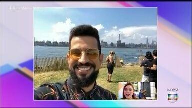 Giro da Ana: Dennis DJ revela que será pai novamente - Veja o que os famosos andam postando em suas redes sociais
