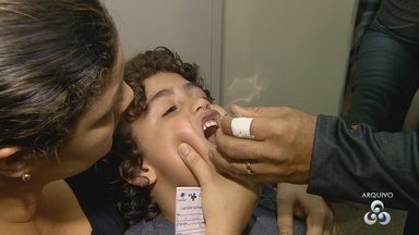 Mais de 80% das crianças tomaram vacina contra pólio e sarampo no AM; meta é 95% - Meta estipulada é vacinar, pelo menos, 95% do público-alvo.