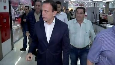 João Doria faz campanha em Presidente Prudente - João Doria, do PSDB, começou o dia em Presidente Prudente.