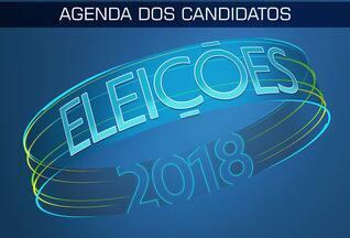 Confira a agenda dos candidatos ao governo desta segunda (03) - Confira a agenda dos candidatos ao governo desta segunda (03)