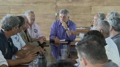 Alberto Fraga (DEM) se reúne com empresários - O candidato disse que, se eleito, vai usar o BRB para abrir linhas de crédito com taxas reduzidas para micro e pequenas empresas.