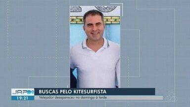 Após 21 horas, corpo de kitesurfista é encontrado no rio Amazonas, no AP - Alexandre de Souza estava desaparecido desde as 17h de domingo (2). O corpo do velejador foi levado para a Polícia Técnico-Científica (Politec) onde passará por perícia