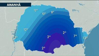 A quinta-feira deve ter mínima de 12° em Cascavel - A previsão é que os termômetros cheguem até os 25°.