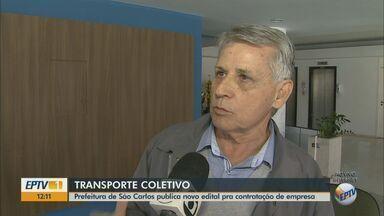 Prefeitura de São Carlos publica edital para contratação de empresa de transporte coletivo - Previsão é que a empresa que assumir deva operar por 10 anos na cidade.