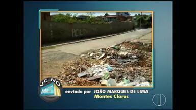 VC no MG: Confira as denúncias enviadas por moradores do Norte de Minas - Moradores de Montes Claros, Pirapora e Várzea da Palma.