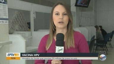Ministério da Saúde quer imunizar 20 milhões de jovens no país contra o HPV - Ministério da Saúde quer imunizar 20 milhões de jovens no país contra o HPV