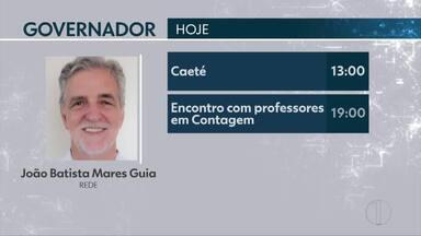 Saiba os compromissos dos candidatos ao governo de Minas desta quarta-feira - Antônio Anastasia (PSDB) é o único sem atividade para hoje.