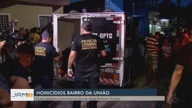 Tiroteio durante festa em quitinete deixa dois mortos em Manaus - Segundo a Polícia Militar, drogas e armas foram encontradas no local. Dois feridos foram resgatados da casa.