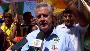 Rodrigo Rollemberg (PSB) prometeu, se reeleito, concluir obras em Vicente Pires - Outra proposta do candidato é construir escolas na região e modificar a iluminação pública
