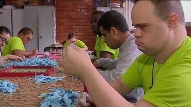 Apae de Cachoeiro abre as portas para mostrar cuidado com pessoas deficientes - Setembro é o mês da inclusão social da pessoa com deficiência.