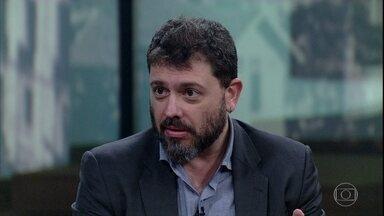 Pedro Dória fala sobre a responsabilidade da UFRJ no uso de verbas para Museu Nacional - Stevens Rehen faz uma comparação entre o orçamento anual do museu e outros custos do poder público