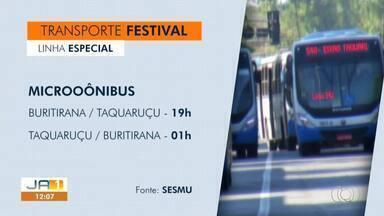 Linha especial de ônibus é disponibilizada durante Festival Gastronômico de Taquaruçu - Linha especial de ônibus é disponibilizada durante Festival Gastronômico de Taquaruçu