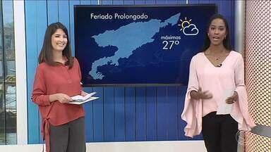 Feriado prolongado será de sol e calor no Sul do Rio - Tempo ficará firme nas cidades da região