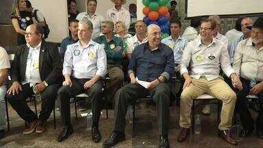 Candidato Henrique Meirelles visita o Leste de Minas - Henrique Meirelles diz que vai criar sistema para detectar possíveis criminosos