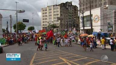 'Grito dos Excluídos' reúne representantes de movimentos sociais, pastorais e sindicatos - Essa foi a 24ª edição do evento, que tradicionalmente é realizado no 7 de setembro.