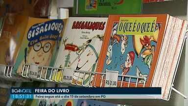 Começou hoje a Feira do Livro, em Ponta Grossa - Feira segue até o dia 15.