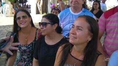 Romeiros visitam Juazeiro do Norte no Feriado - Veja mais notícias em g1.com.br/ce