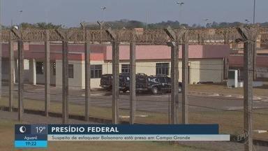 Suspeito de esfaquear Jair Bolsonaro é transferido para o Mato Grosso do Sul - Suspeito de esfaquear Jair Bolsonaro é transferido para o Mato Grosso do Sul