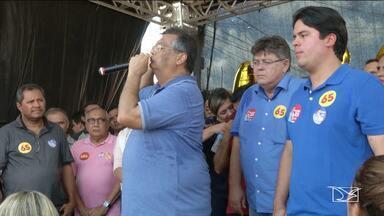 Veja a agenda dos candidatos ao governo do Maranhão - Panfletagens, sabatinas e gravações de programas de TV e rádio são algumas das atividades.