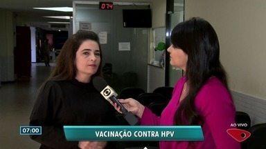 Programa de Imunização de Vila Velha alerta importância de vacina contra HPV - Giovana Ramalho falou sobre imunização.