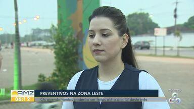 Agendamentos para exame preventivo, em carreta, podem ser feitos até o dia 13 deste mês - Agendamentos podem ser feitos na escola São Miguel, no bairro Jardim Santana, em Porto Velho.
