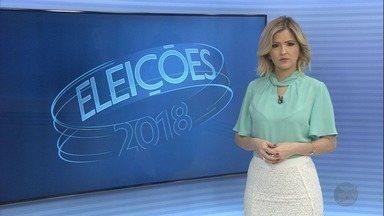 Confira a agenda dos candidatos ao governo de SP nesta segunda-feira (10) - TV Globo acompanha os concorrentes nas Eleições 2018.