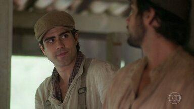 Luccino incentiva Ernesto a se reaproximar de sua esposa - Ele acusa o irmão de estar se aproveitando dos erros de Ema para se esconder