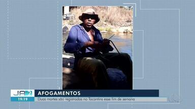 Duas pessoas morrem afogadas nos rios do Tocantins no fim de semana - Duas pessoas morrem afogadas nos rios do Tocantins no fim de semana