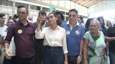 Candidata da Rede, Marina Silva faz campanha na Bahia - Jornal Nacional mostra como foram as atividades de campanha de candidatos à presidência nesta segunda (10).