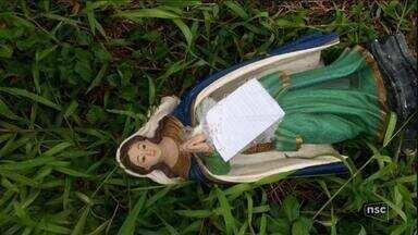 Imagem de Nossa Senhora da Lapa furtada de igreja é achada, diz PM - Imagem de Nossa Senhora da Lapa furtada de igreja é achada, diz PM
