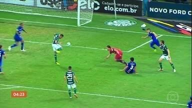 Cruzeiro vence o Palmeiras por 1 a 0 - Confira os lances da partida.