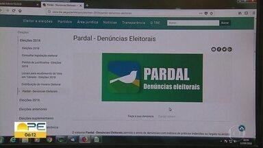 Pernambuco é o estado com mais denúncias contra irregularidades na campanha eleitoral - Segundo o TRE-PE, sistema Pardal recebeu 542 denúncias até a quarta-feira (12).