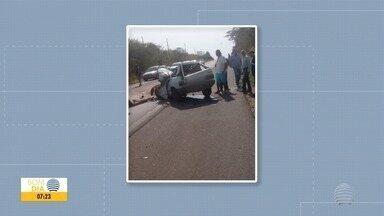 Homem morre após acidente entre carro e caminhão em Adamantina - Segundo a Polícia Rodoviária, veículos bateram de frente.