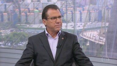 Confira entrevista com Luiz Marinho, candidato ao governo paulista pelo PT - Candidato falou sobre suas propostas de governo.