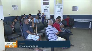 Falta de reagente na policlínica Rafael Vaz e Silva - A falta de reagente prejudica a entrega de exames.