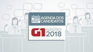 Veja a agenda dos candidatos ao governo da Paraíba nesta sexta-feira(14) - Agenda dos candidatos eleições 2018.