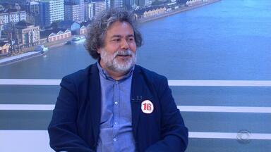 Julio Flores, candidato ao governo do RS, é entrevistado no Jornal do Almoço - Assista ao vídeo.