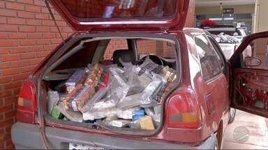 Dois são presos em depósito de maconha em Dourados - Polícia Militar apreendeu 2,6 toneladas de maconha e ainda skunk.