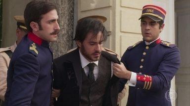 Ernesto consegue capturar Xavier, que é preso por Baltazar - Brandão é inocentado e todos comemoram