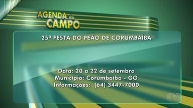 Confira os destaques da Agenda do Campo - Festival Gastronômico e Festa da Melancia estão entre as atividades.