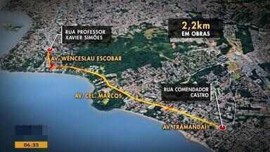 Obras em avenida da Zona Sul de Porto Alegre são adiadas por mudanças no projeto - O prazo é de mais 15 dias para o serviço na avenida Coronel Marcos ser finalizado.