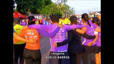 Em Marabá centenas de pessoas participaram da 10ª edição da corrida do Sesi - Evento reuniu atletas profissionais, trabalhadores da indústria, militares e gente da comunidade.