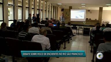 Audiência pública em Petrolina discute risco de enchentes no Rio São Francisco - A audiência foi realizada na Câmara de Vereadores da cidade.