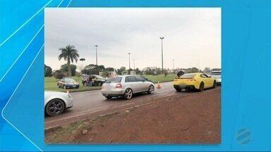 Motoristas são flagrados em estado de embriaguez após festa em Dourados - Polícia Rodoviária Federal fez blitz na saída de festa, na BR-163.