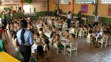 Creche Seara recebe mais de 200 kg de alimentos da Ufopa - Qualquer pessoa pode ajudar a creche no combate a desnutrição doando algum alimento.
