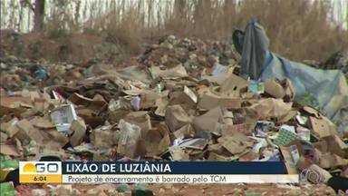 Perfeitura de Luziânia abre nova licitação para obra de encerramento do lixão - Por lei, o encerramento significa, entre outros atos, fazer drenagem da água e do gás produzido pelo lixo.
