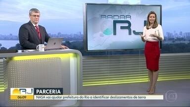NASA vai ajudar a prefeitura do Rio a identificar deslizamentos de terra - Agência vai monitorar cidade e deve ser testado a partir de novembro.