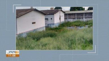 Servidores da Penitenciária Agrícola denunciam mato alto ao redor do presídio em Roraima - Mato alto dificulta a segurança nas imediações na maior unidade prisional do estado.